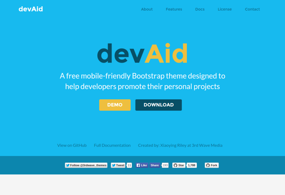 Free Bootstrap